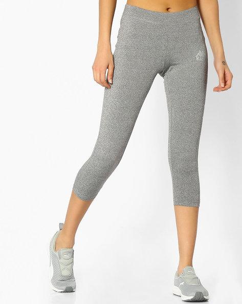Capris With Elasticated Waist By KAPPA ( Grey )
