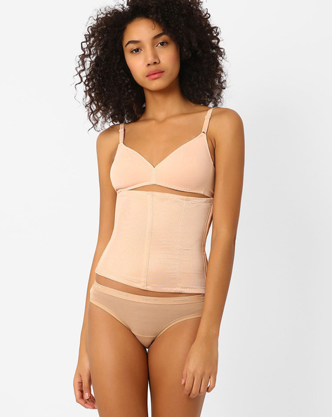 Knitted Tummy Shaper By TRIUMPH ( Beige )