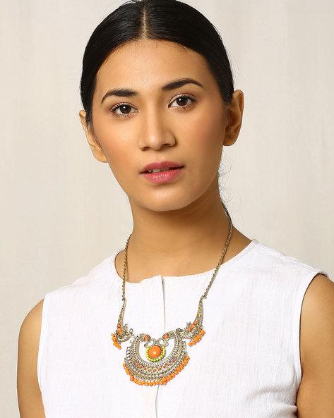 Beaded Afghan Necklace By Indie Picks ( Multi ) - 460018121001