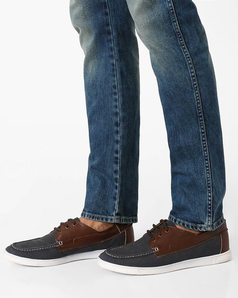 Terry Summer Casual Shoes By Knotty Derby ( Blue )