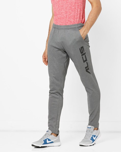 Track Pants With Elasticated Waist By ALCIS ( Darkgrey )