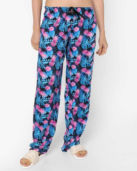 Printed Pyjamas With Elasticated Waist By Heart 2 Heart ( Blue )