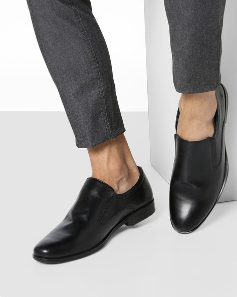 Slip-On Loafers With Elasticated Gussets By Bond Street By Red Tape ( Black )