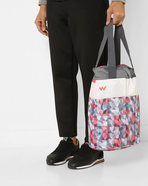 Printed Tote Bag By Wildcraft ( Pink )