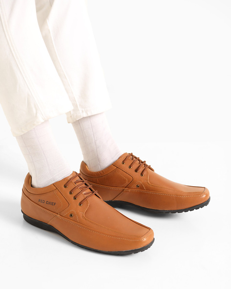 Leather Formal Shoes By RED CHIEF ( Brown )