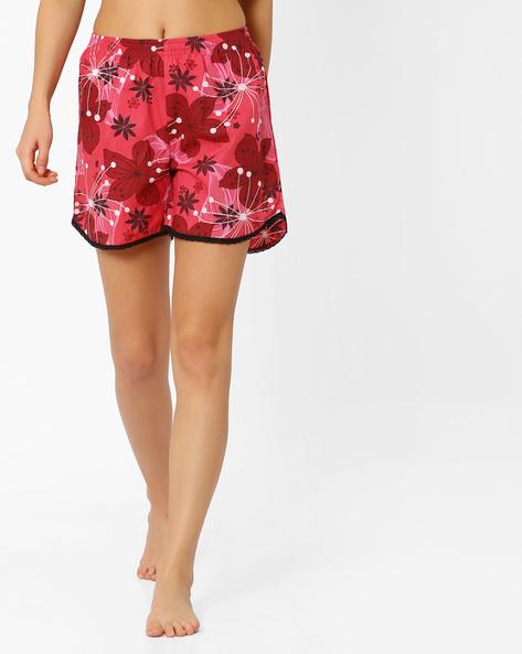 Floral Print Shorts By PrettySecrets ( Multi )