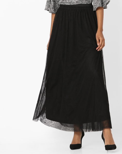 Layered Maxi Top By Only ( Black )
