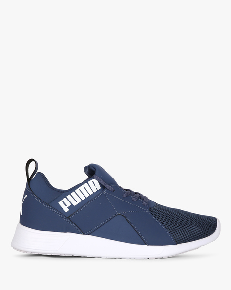 Zod Runner IDP Lace-Up Sports Shoes By Puma ( Blue )