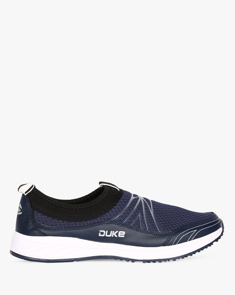 Slip-On Sports Shoes With Pull Loops By DUKE ( Navy )