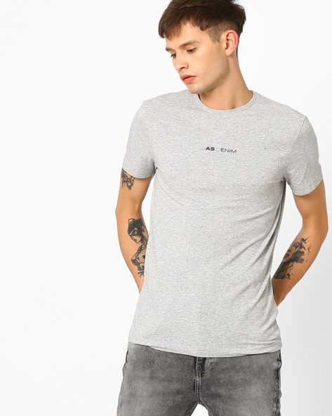 Slim Fit Crew-Neck T-shirt By GAS ( 0174 )