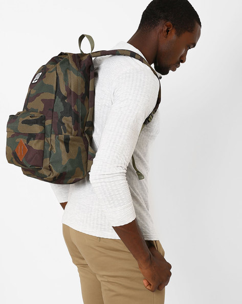 Camouflage Old-Skool II Backpack By Vans ( Military )