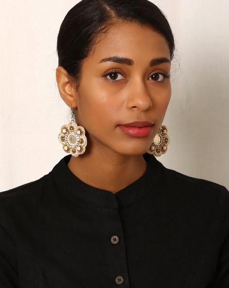 Beaded Drop-Earrings By Indie Picks ( Multi ) - 460042559001