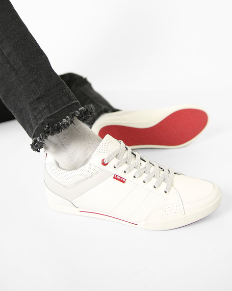 Turlock Casual Shoes With Lace-Ups By LEVIS ( White )