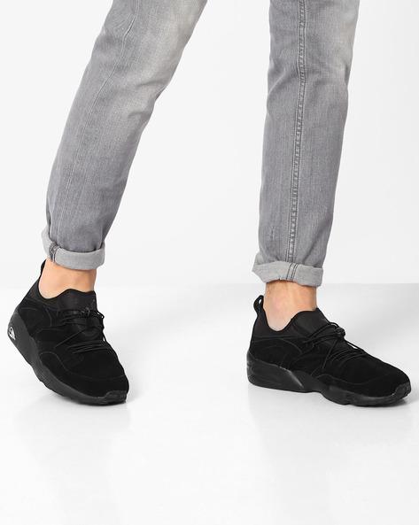 Blaze Of Glory Running Shoes By Puma ( Black )