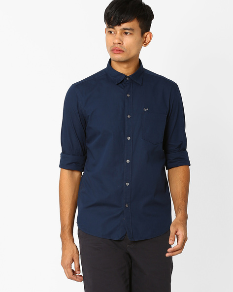 Slim Fit Casual Shirt By FLYING MACHINE ( Assorted )