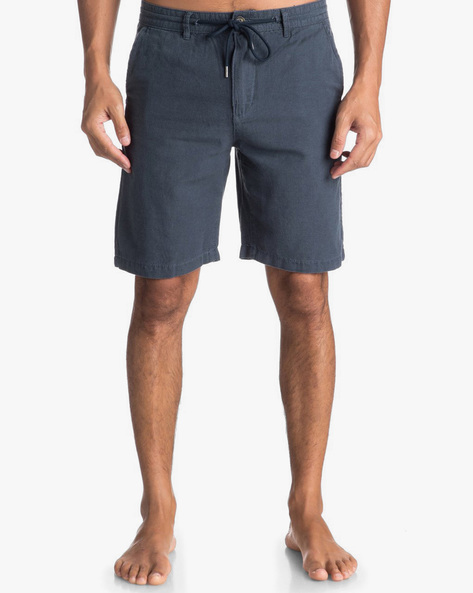 Mid-Rise Shorts With Drawstring Waist By QUIKSILVER ( Bst0 )