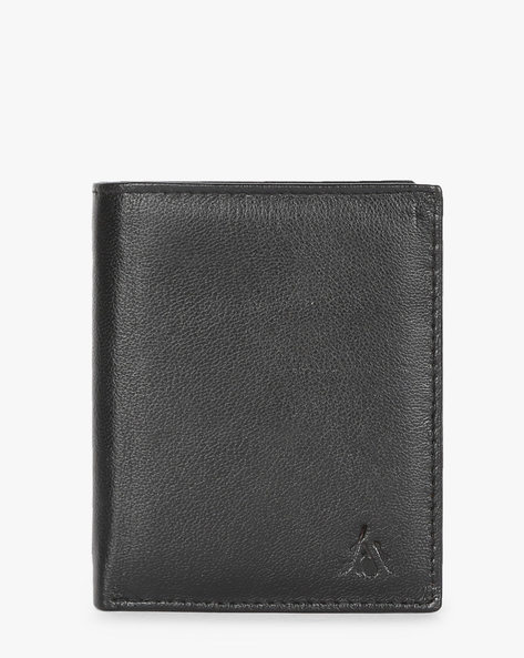 Genuine Leather Bi-fold Wallet By ALVARO CASTAGNINO ( Black ) - 460135661001