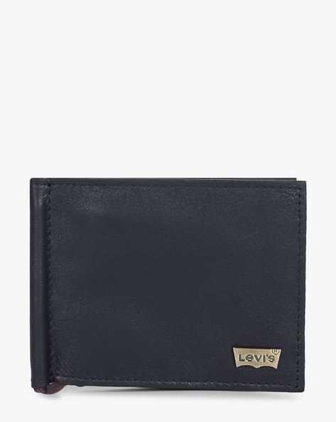 Bi-Fold Wallet With Money Clip By LEVIS ( Blue )
