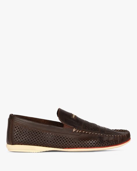 Slip-Ons With Cutouts By RED TAPE ( Brown )