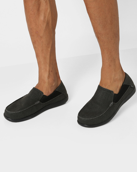 Slip-On Casual Shoes By CROCS ( Black )