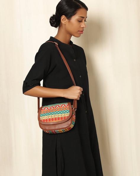 Digital Print Sling Bag By All Things Sundar ( Multi )