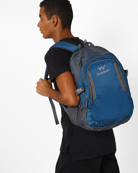 Paryak Water-Resistant Backpack By Wildcraft ( Blue )