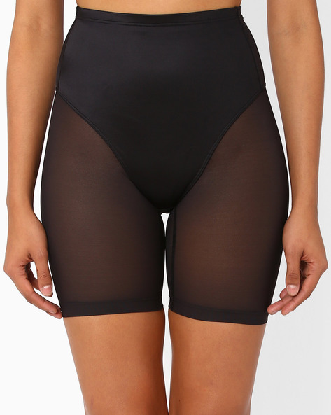 High-Rise Waist & Thigh Shaper By TRIUMPH ( Black )