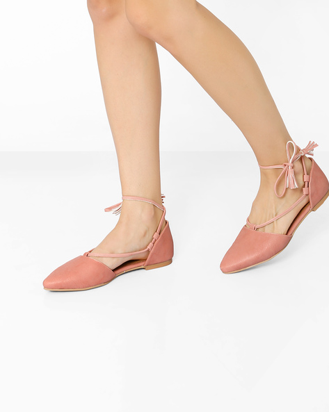 919577a6836 Buy Inara Flat Shoes with Tie-Up on Ajio.com