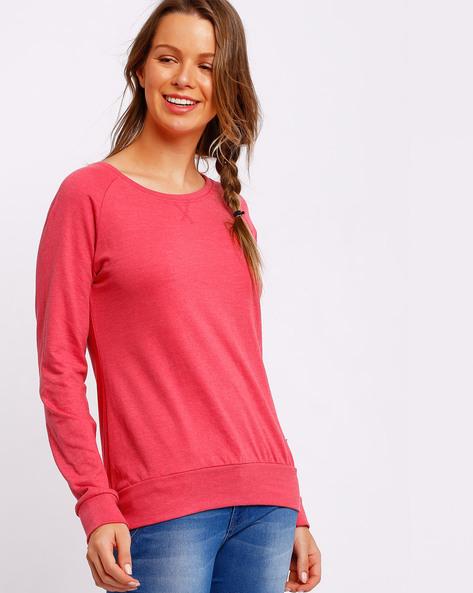 Sweatshirt With Raglan Sleeves By TEAM SPIRIT ( Red )