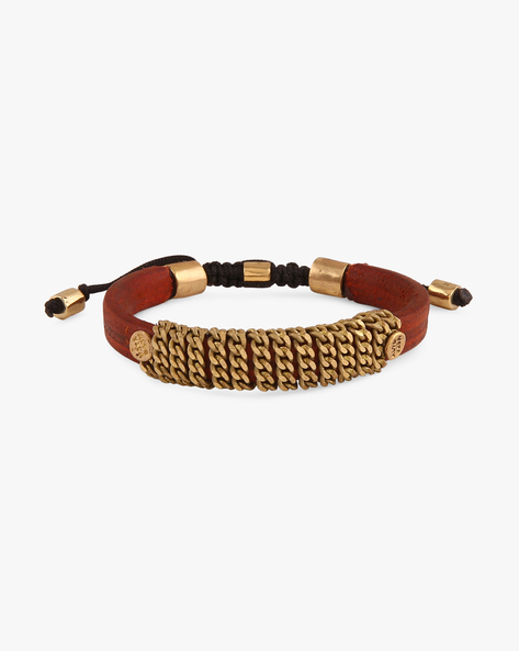 Genuine Leather Bracelet By Alto Vida ( Multi ) - 460074342001
