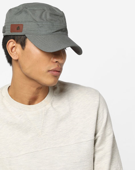 Cadet Cap With Signature Branding By WRANGLER ( Olive )
