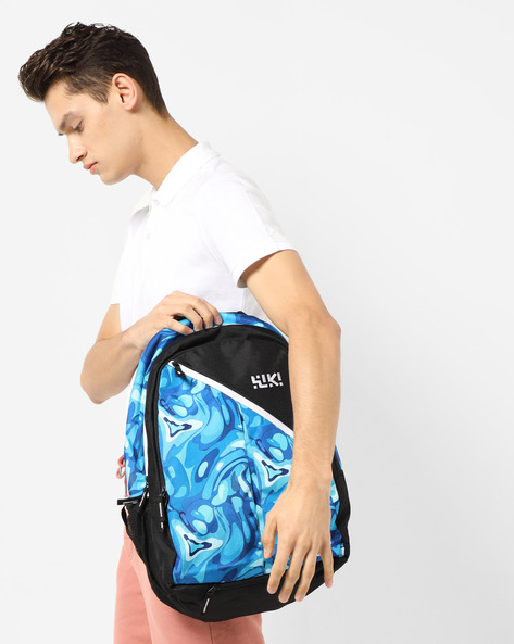 Printed Everyday Backpack By Wildcraft ( Blue )