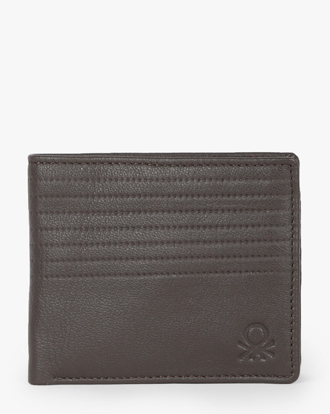 Textured Bi-Fold Wallet By UNITED COLORS OF BENETTON ( Brown )