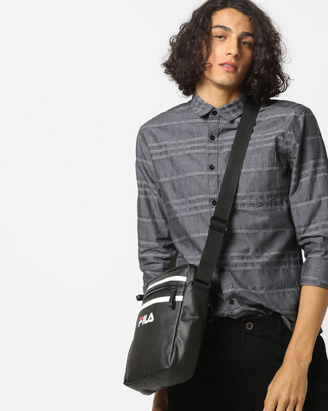 Checked Shirt With Patch Pocket By AJIO ( Grey )