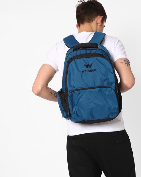 Visam Water-Resistant Backpack By Wildcraft ( Blue )