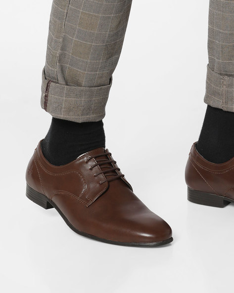 Panelled Derby Shoes By Bond Street By Red Tape ( Brown )