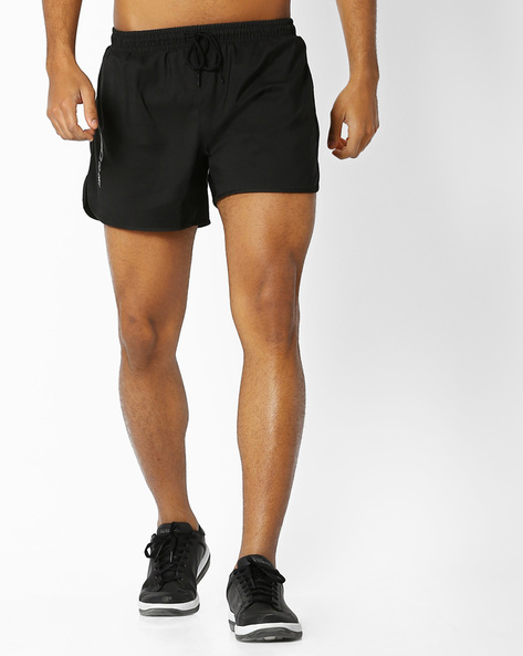 Shorts With Elasticated Waist By 2Go ( Black )