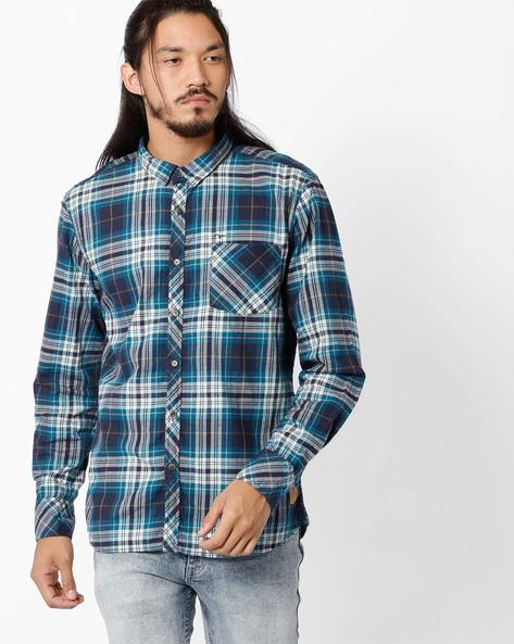 Regular Fit Checked Cotton Shirt By FLYING MACHINE ( Assorted )