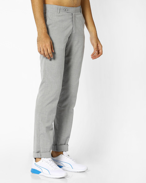 Slim Fit Twill Chinos By JOHN PLAYERS ( Assorted )