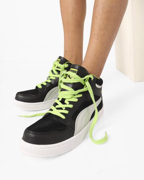 Rebound Mid Lite DP Casual Shoes By Puma ( Black )