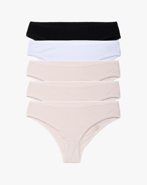 PAck Of 5 Hipster Panties By Marks & Spencer ( Brown )