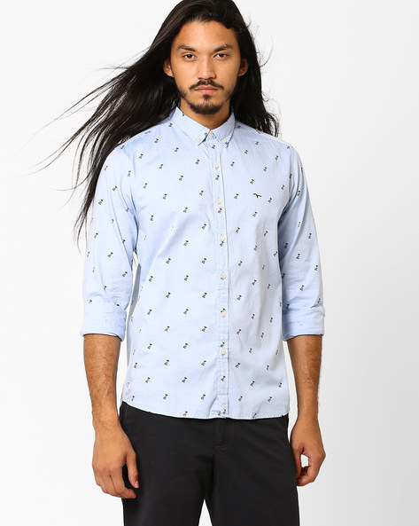 Printed Casual Slim Shirt By FLYING MACHINE ( Assorted )