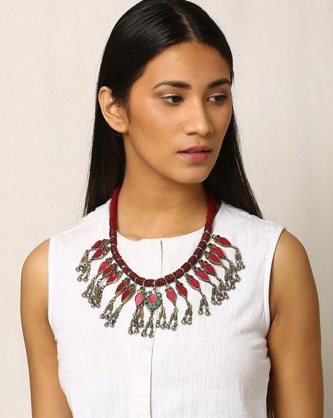 Afghan Tribal Necklace By Indie Picks ( Metallic ) - 460020050001