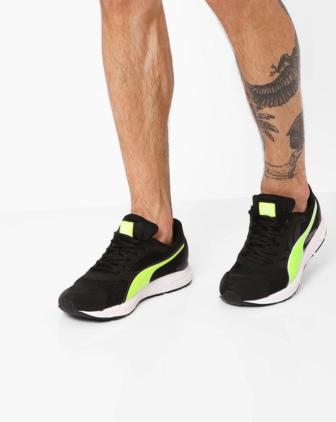 Puma Valor Lace-Up Shoes By Puma ( Black )