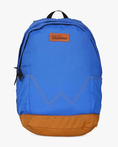 Canvas Laptop Backpack By WRANGLER ( Lightblue )