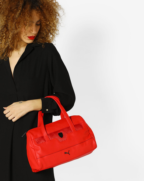 Ferrari LS Handbag By Puma ( Red )