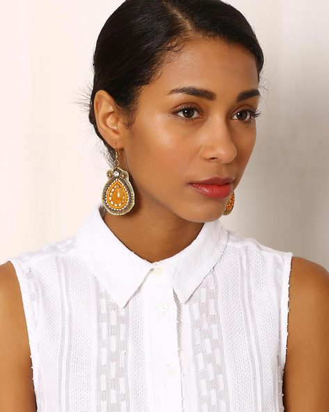 Beaded Drop-Earrings By Indie Picks ( Multi ) - 460042575001