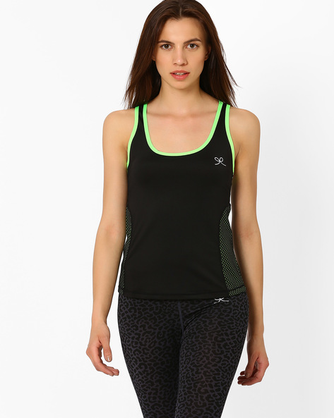 Racerback Tank Top By PrettySecrets ( Black )