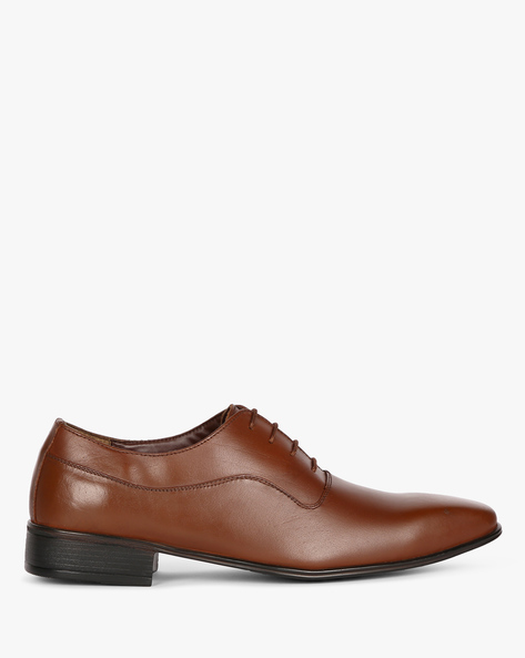 Oxford Formal Lace-Up Shoes By ESCARO ( Brown )