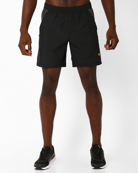 Training Shorts With Contrast Mesh By PERFORMAX ( Black )